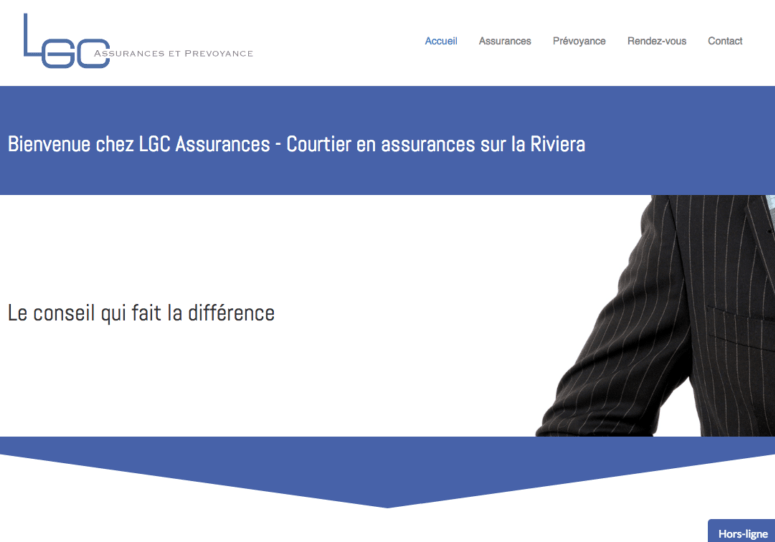 lgc-assurances - website