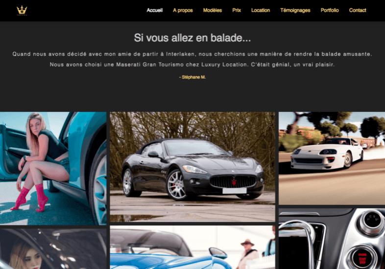 Luxury location - website